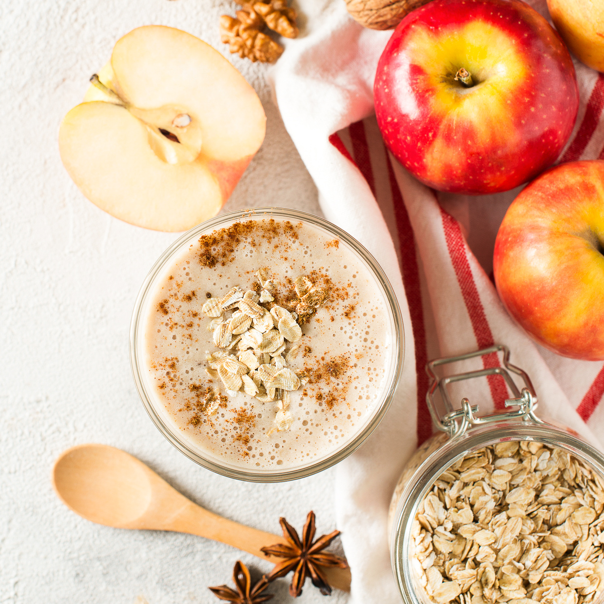 Apple & Oats Smoothie