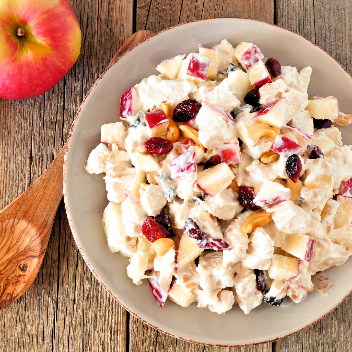Apple Cranberry Turkey Salad