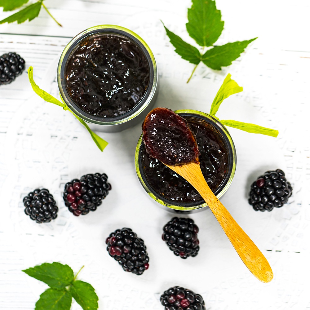 Blackberry Jam Preserves
