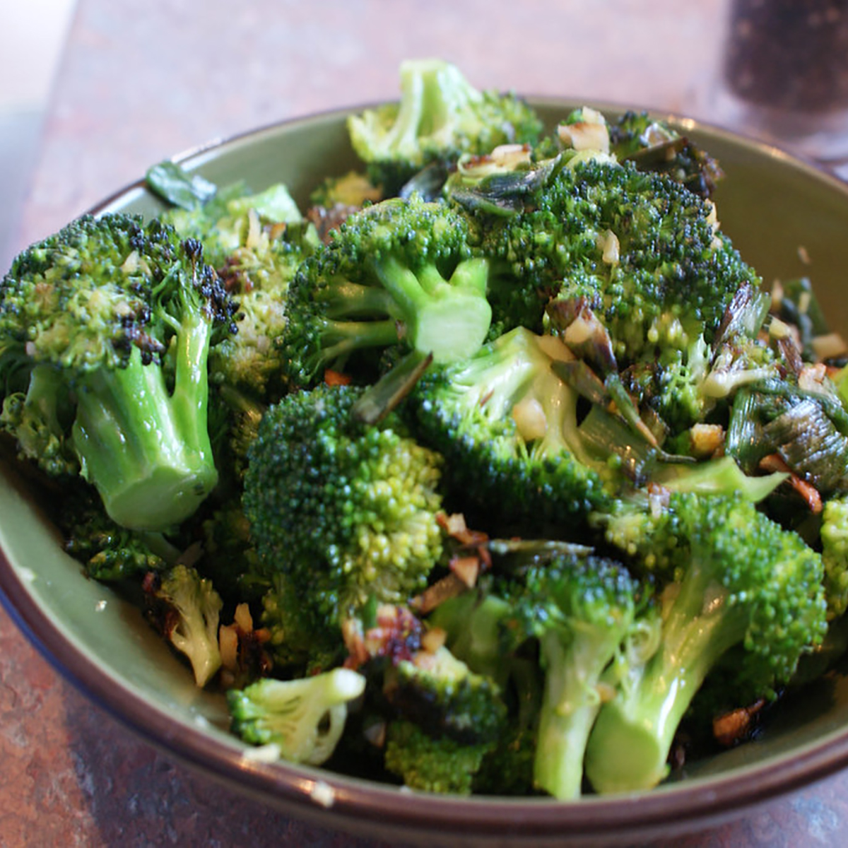 Almond Broccoli Stir Fry
